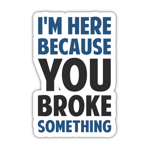 Geek Caps - Nerds & Developers Stickers messages sticker-3