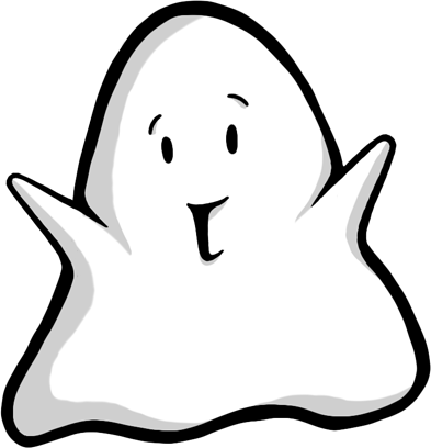 Spookie - Cute Halloween Sticker Ghost messages sticker-0