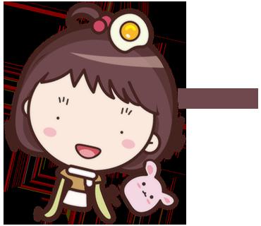 Yolk Girl Pro - Cute Stickers by NICE Sticker messages sticker-11