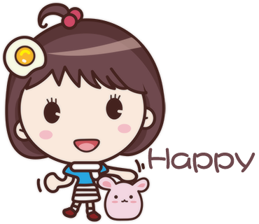 Yolk Girl Pro - Cute Stickers by NICE Sticker messages sticker-0