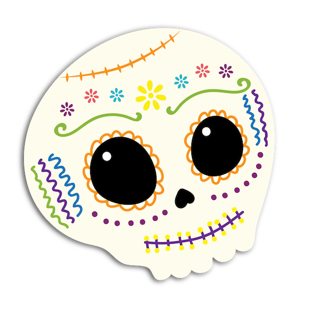 Dulce's Day of the Dead messages sticker-8