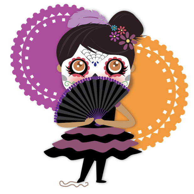 Dulce's Day of the Dead messages sticker-5