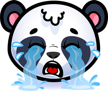 Emotion Panda Sticker - Emoji messages sticker-3