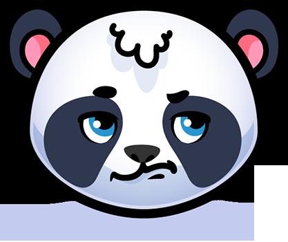 Emotion Panda Sticker - Emoji messages sticker-8