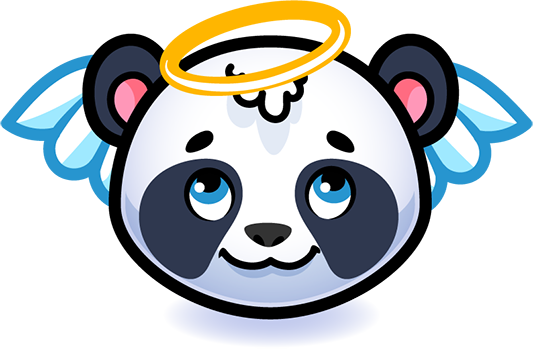 Emotion Panda Sticker - Emoji messages sticker-11