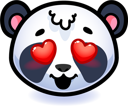 Emotion Panda Sticker - Emoji messages sticker-2