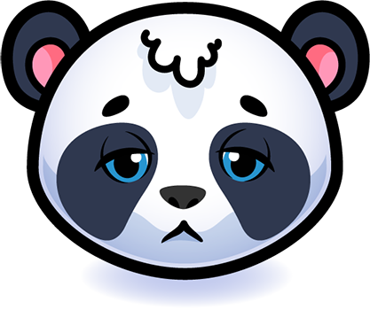 Emotion Panda Sticker - Emoji messages sticker-5