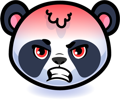 Emotion Panda Sticker - Emoji messages sticker-6