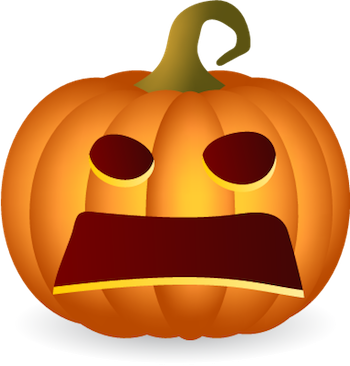 Pumpkin Halloween Sticker - Emoji messages sticker-2