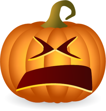 Pumpkin Halloween Sticker - Emoji messages sticker-10