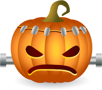 Pumpkin Halloween Sticker - Emoji messages sticker-7