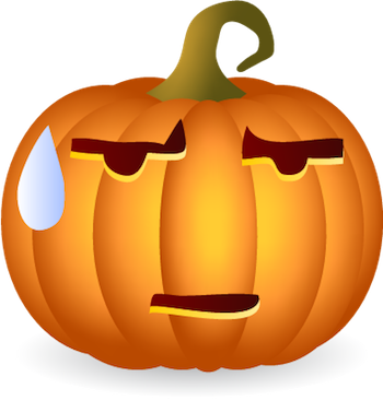Pumpkin Halloween Sticker - Emoji messages sticker-9