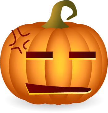 Pumpkin Halloween Sticker - Emoji messages sticker-5