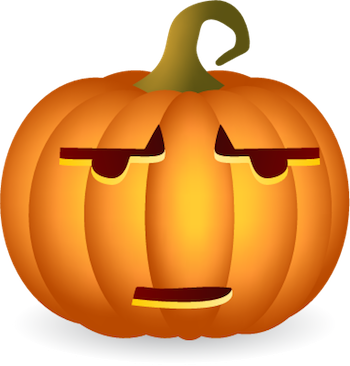 Pumpkin Halloween Sticker - Emoji messages sticker-0