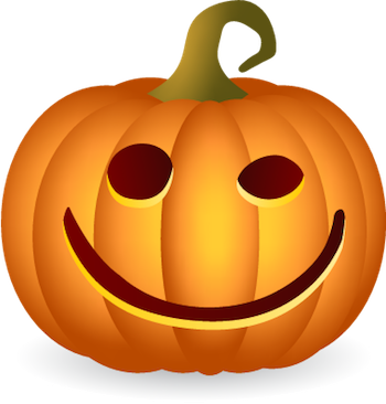 Pumpkin Halloween Sticker - Emoji messages sticker-1