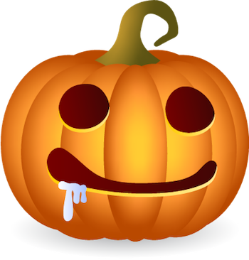 Pumpkin Halloween Sticker - Emoji messages sticker-4