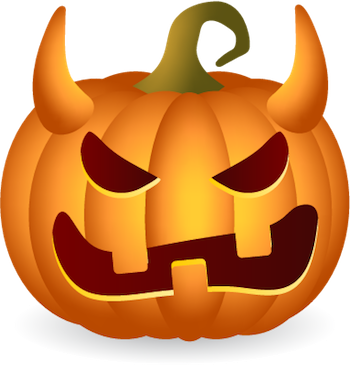 Pumpkin Halloween Sticker - Emoji messages sticker-8