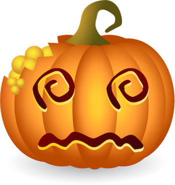 Pumpkin Halloween Sticker - Emoji messages sticker-11
