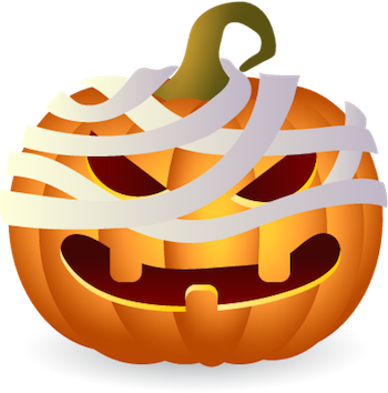 Pumpkin Halloween Sticker - Emoji messages sticker-3