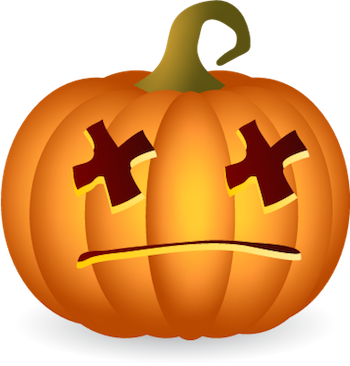 Pumpkin Halloween Sticker - Emoji messages sticker-6
