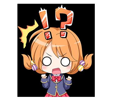 ガールフレンド(仮)ステッカー messages sticker-8