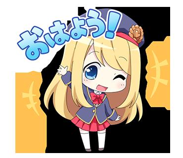ガールフレンド(仮)ステッカー messages sticker-2