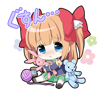 ガールフレンド(仮)ステッカー messages sticker-7