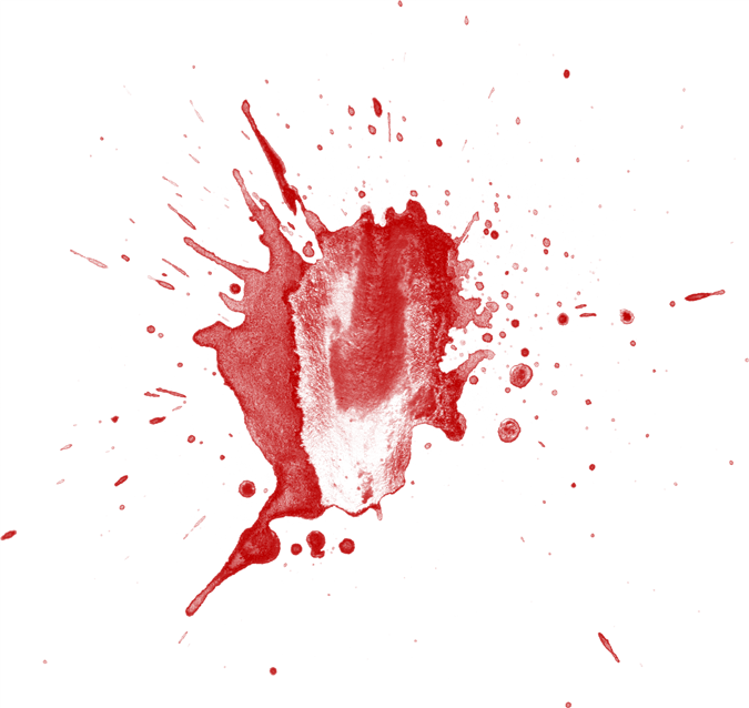 Blood Splatters messages sticker-9