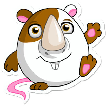 Cute Hamster messages sticker-5
