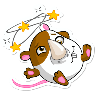 Cute Hamster messages sticker-7