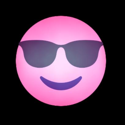 PINK Emoji • Stickers messages sticker-4