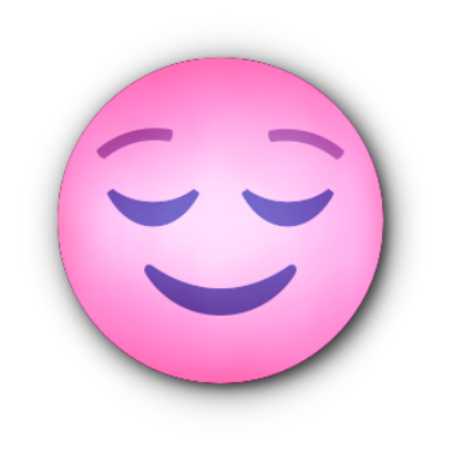 PINK Emoji • Stickers messages sticker-2