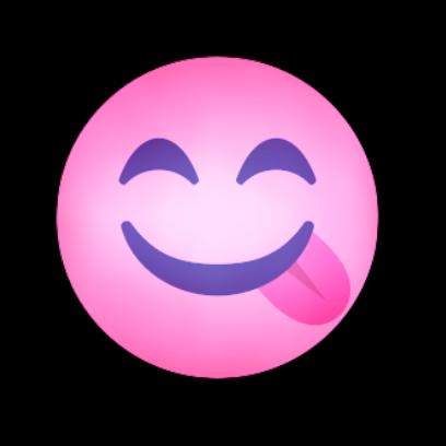 PINK Emoji • Stickers messages sticker-1