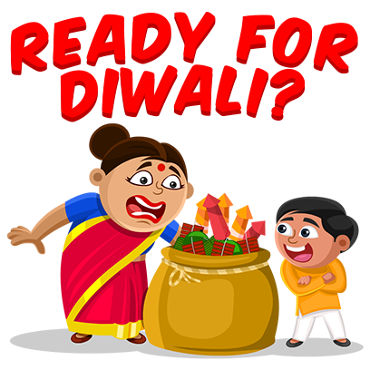 Just Diwali Things messages sticker-3