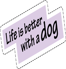Cats and Dogs : Fashion Patches messages sticker-5