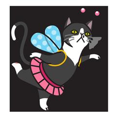 Two Cat Friends messages sticker-7
