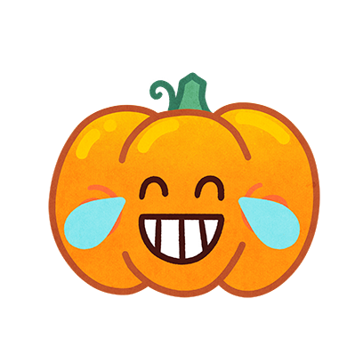 Jack-o-Moji Stickers by Mojimade messages sticker-5