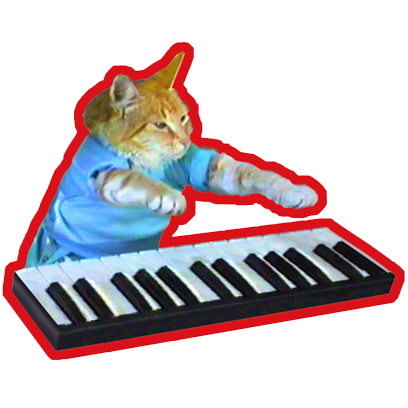 Keyboard Cat Stickers! messages sticker-6