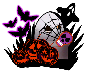 Synthia Halloween messages sticker-9
