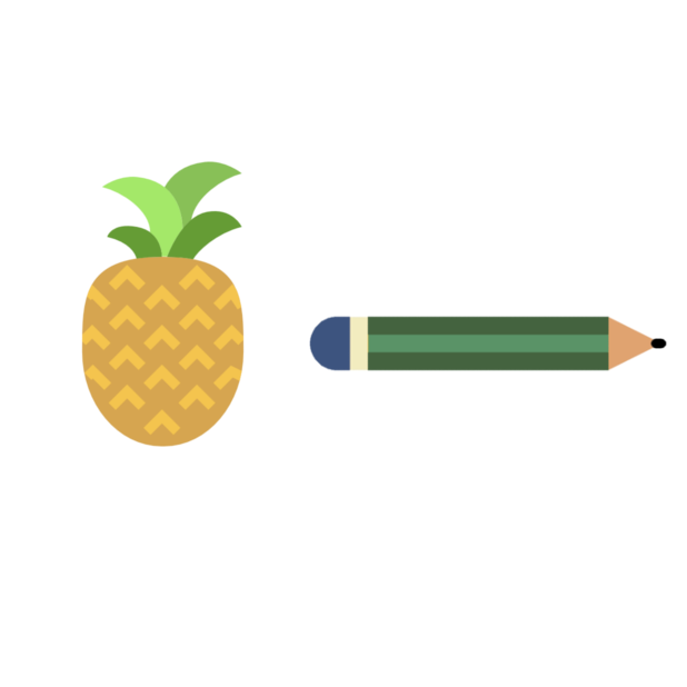 Apple & Pencil messages sticker-6