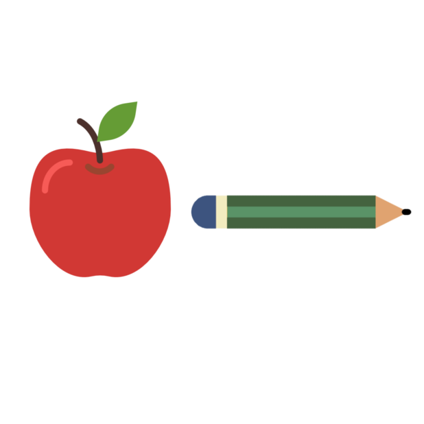 Apple & Pencil messages sticker-5
