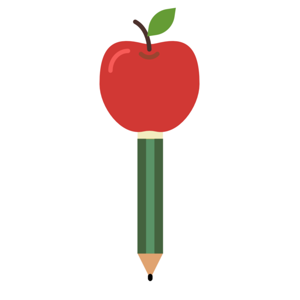 Apple & Pencil messages sticker-3