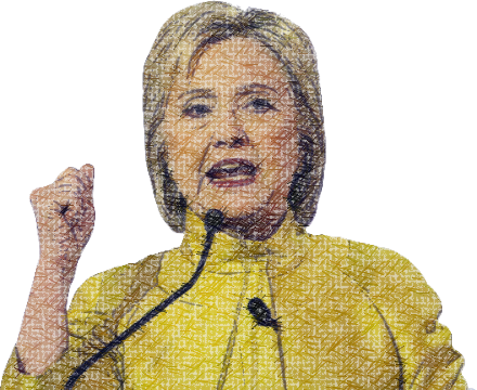 Clinton - Power Woman messages sticker-4
