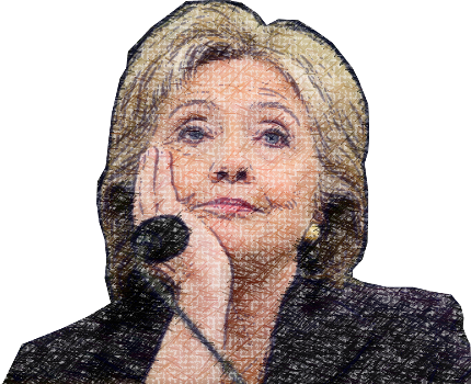 Clinton - Power Woman messages sticker-2