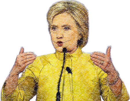 Clinton - Power Woman messages sticker-6