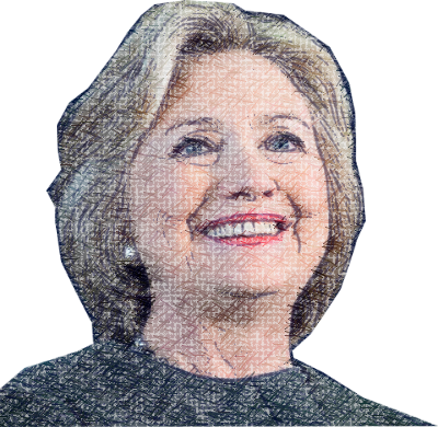 Clinton - Power Woman messages sticker-8