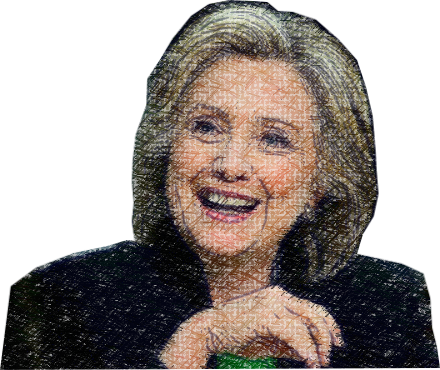 Clinton - Power Woman messages sticker-10