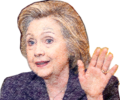 Clinton - Power Woman messages sticker-7