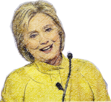 Clinton - Power Woman messages sticker-3