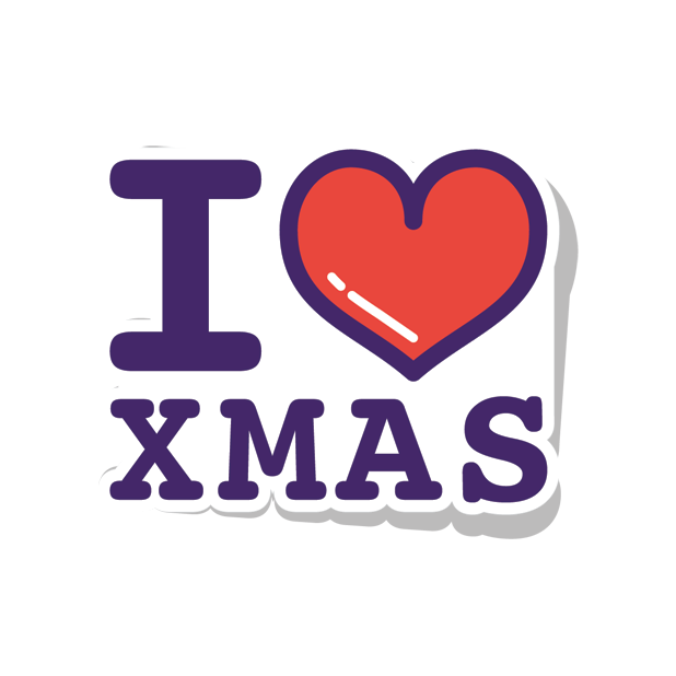 Ibbleobble Christmas Stickers for iMessage messages sticker-8